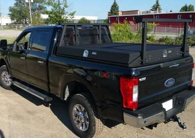 Black X-Pro Low Side Pack in a Ford Pickup