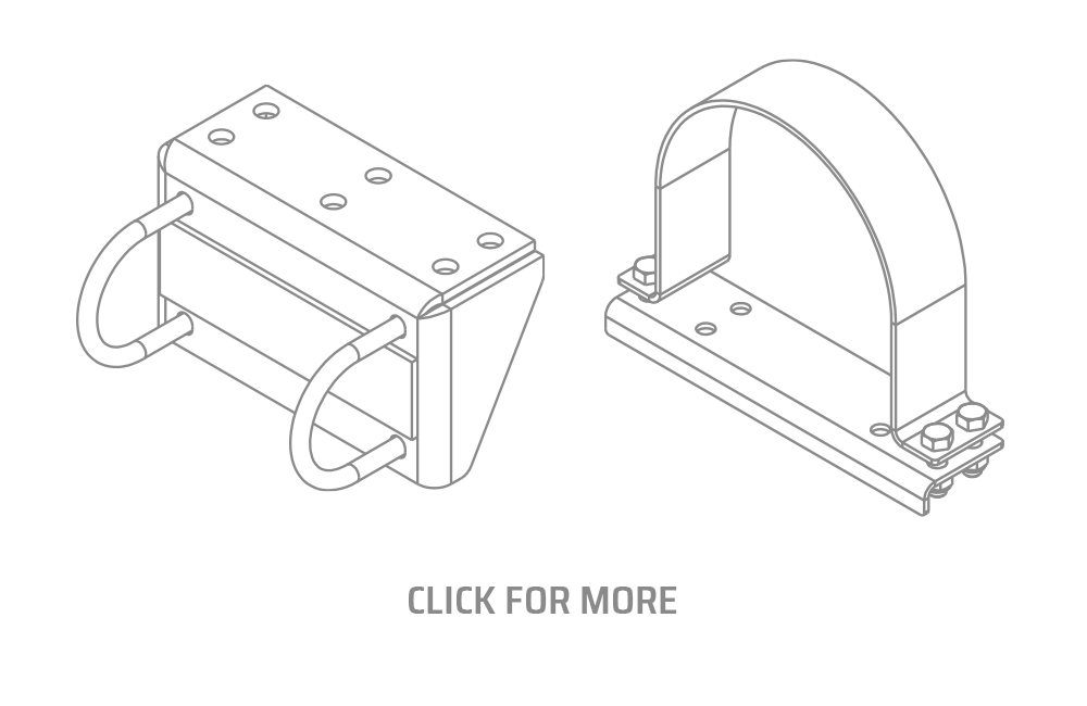 XPro High Side Cradles Mounts Brackets Clamps